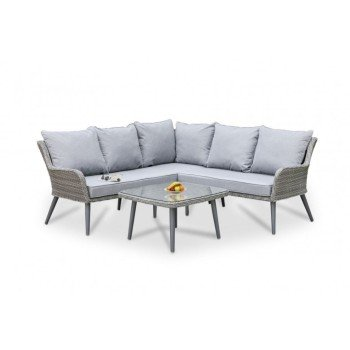 Outdoor corner and modular sofas